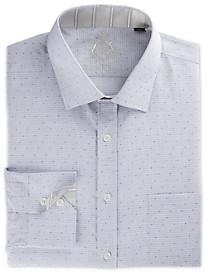 English Laundry™ Dobby Mini Check Dress Shirt