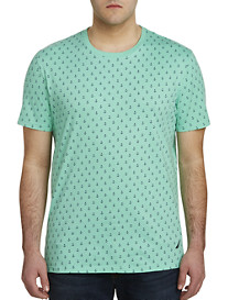 Nautica Anchor Print All Over Tee