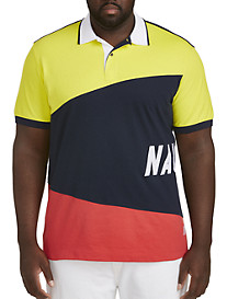 Nautica® Sail Flag Pieced Polo