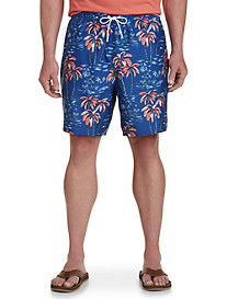 Nautica Palm Tree Swim Trunks