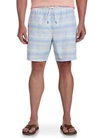 Nautica Stripe Swim Trunks