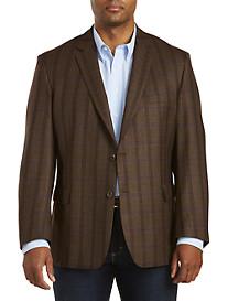 Jean-Paul Germain Wool Windowpane Sport Coat--Executive Cut