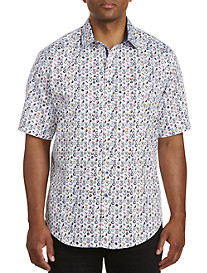 Robert Graham DXL Digital Multi Print Sport Shirt