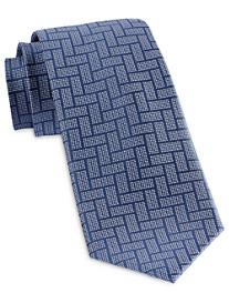 Michael Kors® Rectangular Weave Silk Tie