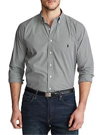 Polo Ralph Lauren Classic Fit Check Stretch Poplin Sport Shirt