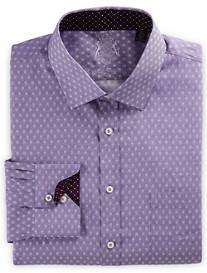 English Laundry Textured Geo Dress Shirt