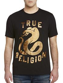 True Religion Metallic Cobra Tee
