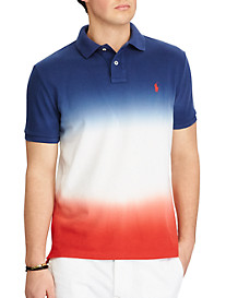 Polo Ralph Lauren New Classic Fit USA Dip-Dye Polo Shirt