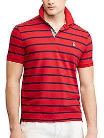 Polo Ralph Lauren Classic Fit Jersey Stripe Polo Shirt