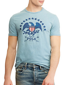 Polo Ralph Lauren Classic Fit Eagle with Stars Graphic Tee