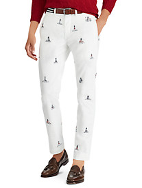 Polo Ralph Lauren Flat-Front Lighthouse Pants