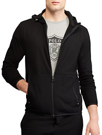 Polo Ralph Lauren Knit Hooded Track Jacket