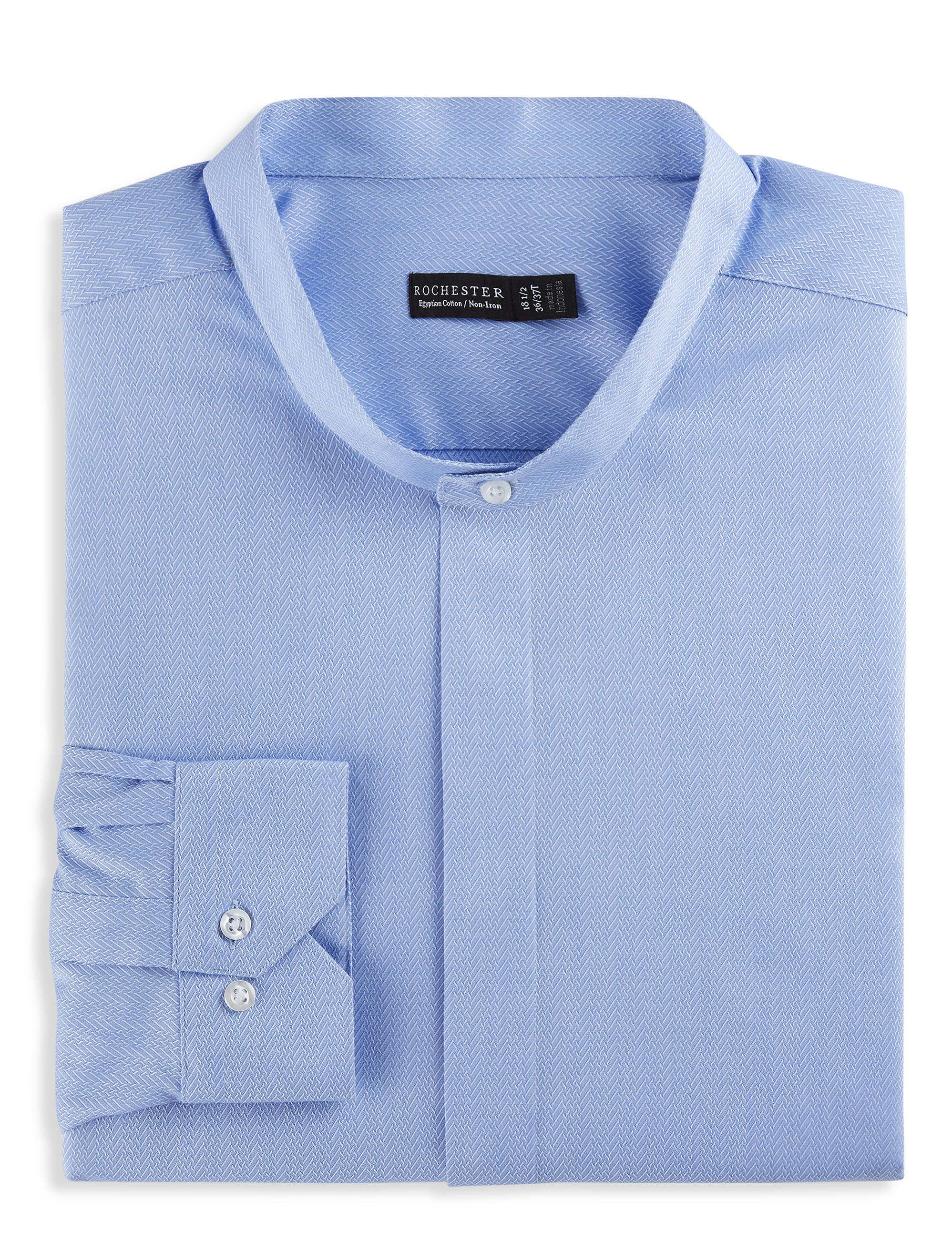 Rochester Mandarin Collar Dress Shirt | Tuggl