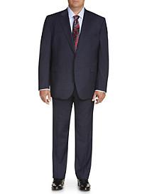 Jack Victor Classic Deco Plaid Nested Suit