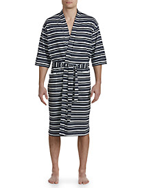 Majestic International® Campus Stripe Knit Kimono Robe