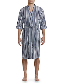 Majestic International® Summer Shells Seersucker Kimono Robe