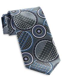 Geoffrey Beene Full Moon Geo-Print Tie