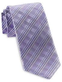 Geoffrey Beene Moonstruck Plaid Tie