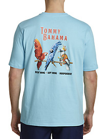 Tommy Bahama Right Wing Left Wing Graphic Tee