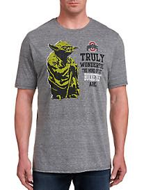 Retro Brand Ohio State Yoda Team Tee