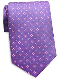 Keys & Lockwood Four Dot Neat Silk Tie
