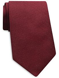 Keys & Lockwood Solid Textured Silk Tie