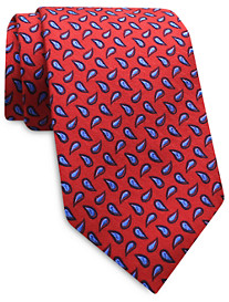 Keys & Lockwood Modern Paisley Silk Tie