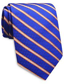 Keys & Lockwood Multicolor Stripe Silk Tie