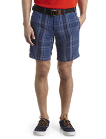 Polo Ralph Lauren® Classic Flat-Front Plaid Shorts