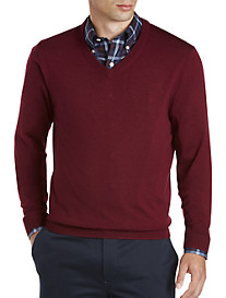 Brooks Brothers® SaxXon™ V-Neck Sweater
