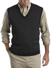 Brooks Brothers® Birdseye V-Neck Sweater Vest