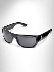 Polo Ralph Lauren® Shiny Black Sunglasses