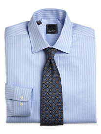 David Donahue Stripe Dress Shirt