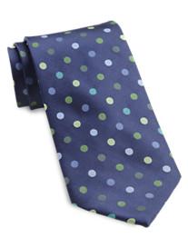 Rochester Textured Dot Silk Tie