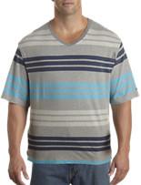 Tommy Hilfiger® Stripe V-Neck Tee
