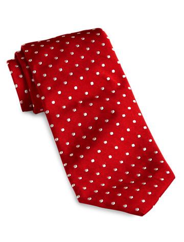 Keys & Lockwood Woven Dot Tie -  On Sale!