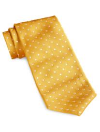 Keys & Lockwood Woven Dot Tie