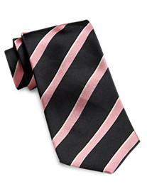 Keys & Lockwood Rep Stripe Tie