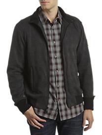 DKNY Jeans Glen Plaid Full-Zip Jacket
