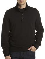 Michael Kors® Snap-Close Mockneck Pullover