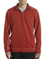 Tommy Bahama® Ben and Terry Quarter-Zip Pullover