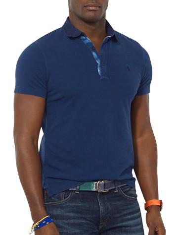 Polo Ralph Lauren® Twill-Collar Mesh Polo | Polos