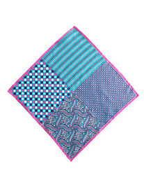 Rochester Multi-Pattern Pocket Square