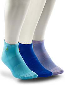 Polo Ralph Lauren® 3-pk Low-Cut Tech Socks