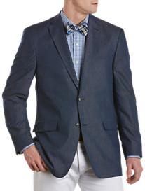 Tommy Hilfiger® Cotton Denim Chambray Blazer