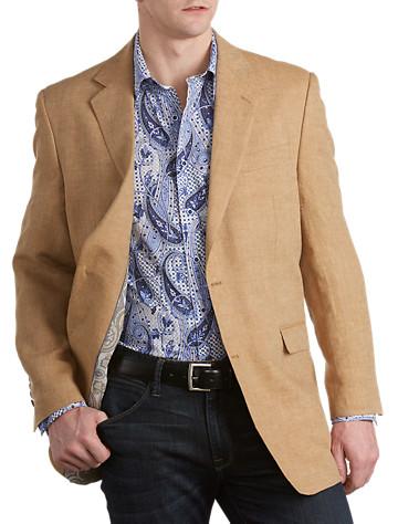 Tallia Orange Linen Blazer (khaki)