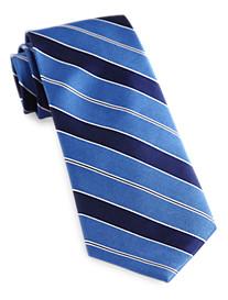 Tommy Hilfiger® Text Book Stripe Silk Tie