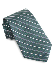 Rochester Skinny-Stripe Silk Tie