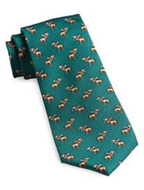 Tommy Hilfiger® Xmas Moose Silk Tie