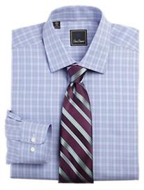 Save 50% David Donahue Check Dress Shirt